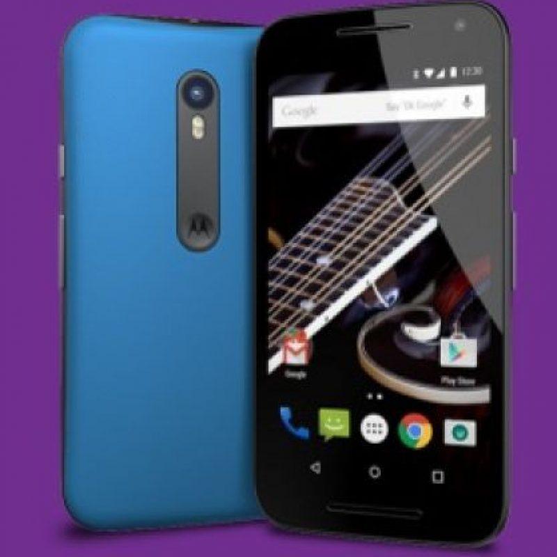 Procesador Qualcomm Snapdragon 410 de cuatro núcleos a 1.4 GHz. Foto:Motorola