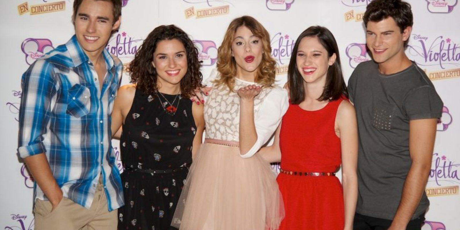 """9. """"Violetta"""" obtuvo 1.1 milllones de dólares Foto:Getty Images"""