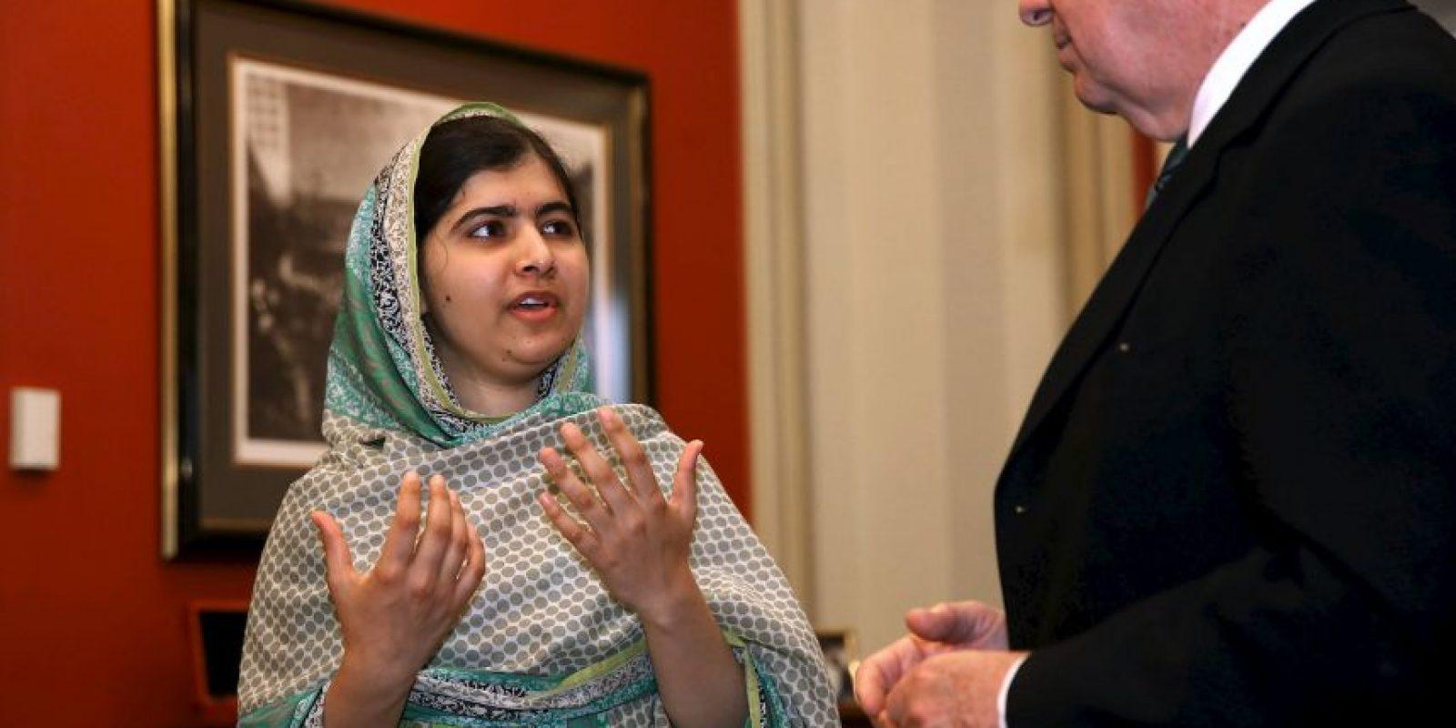 Hasta al punto que personalidades como Malala Yousafzai, el premio Nobel de la Paz de 2014, condenó las palabras de Trump. Foto:Getty Images