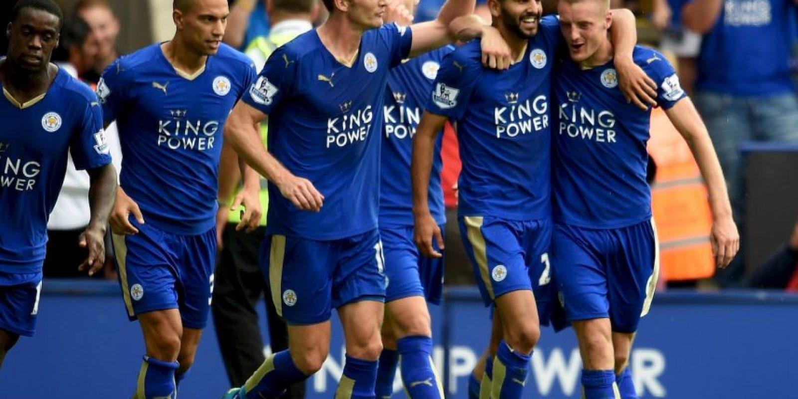 Es una de las figuras del Leicester, actual líder de la Premier League Foto:Getty Images