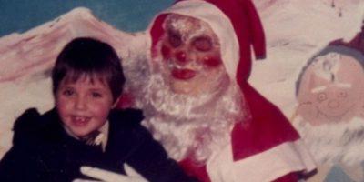 Papá Noel quiere matarte. Foto:Reddit