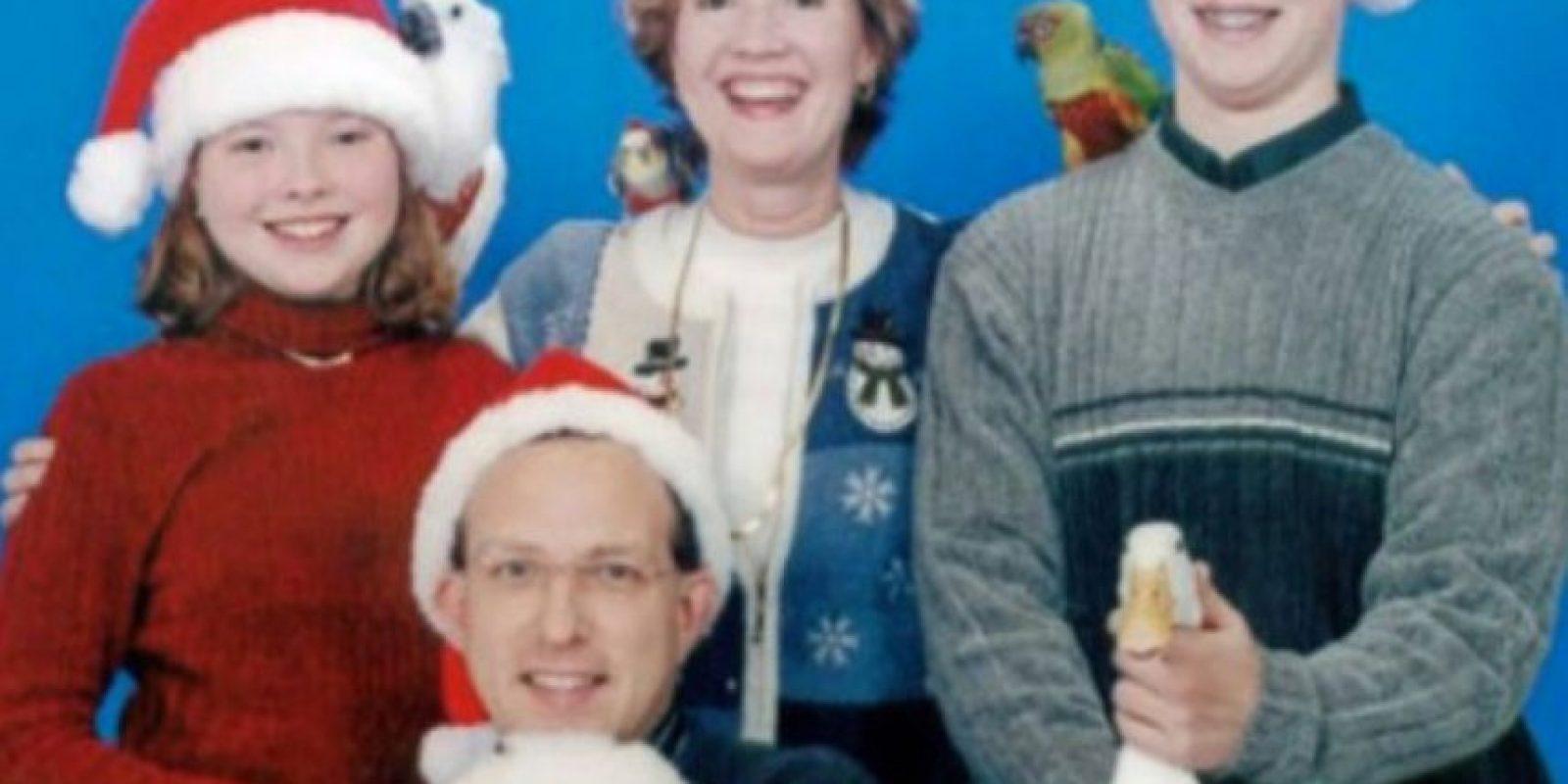 El pato. Piensen en el pato, ¿sí? Foto:Awkward Family Photos