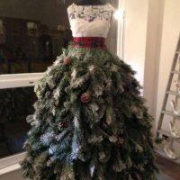 Lindo vestido navideño Foto:Know Your Meme
