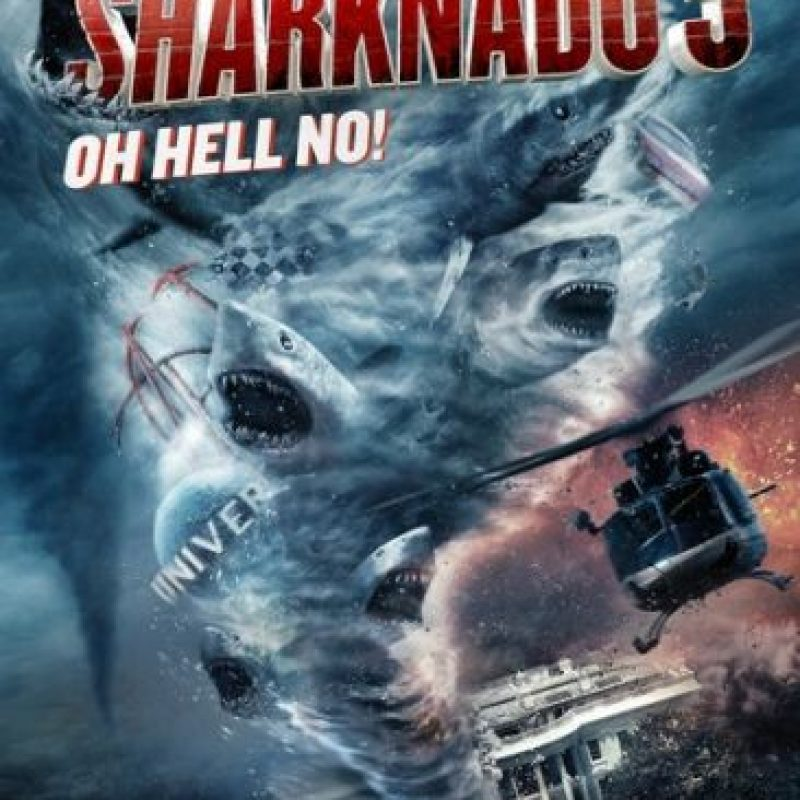 """9. """"Sharknado 3"""", con siete errores Foto:IMDb"""