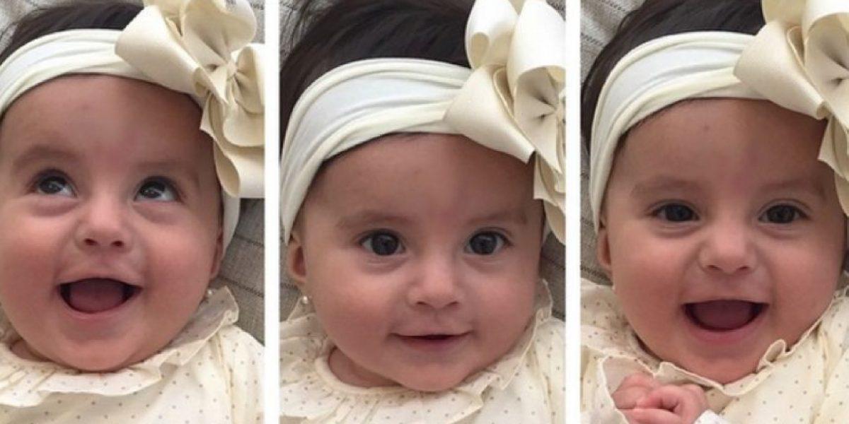 La hija de Andrea Serna se robó todas las miradas durante este 2015