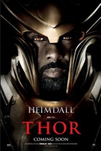 "Idris Elba interpretó a ""Heimdall"" en ""Thor"" y ""Thor: The Dark World"" Foto: Marvel"