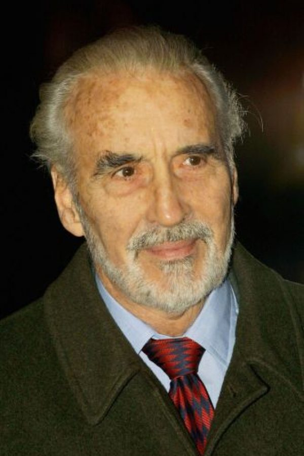 3. Christopher Lee Foto:Getty Images