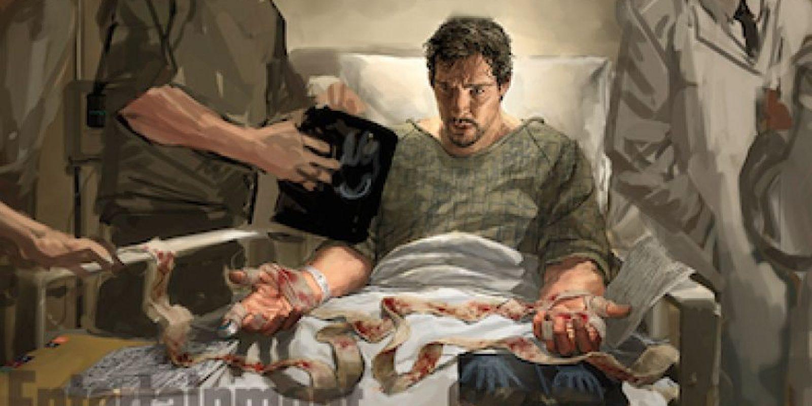 """Hasta que en un accidente sufrió una enfermedad nerviosa en sus manos que lo obligó a retirarse. Foto:""""Entertainment Weekly"""""""