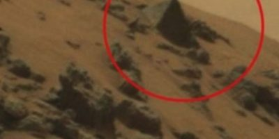 Pirámide Egipcia Foto:Vía mars.jpl.nasa.gov/