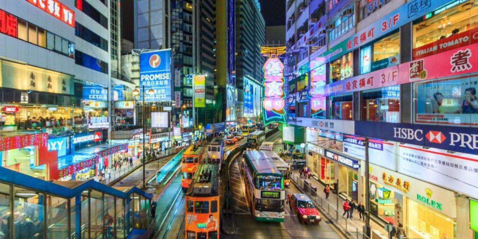 8. Hong Kong, China.