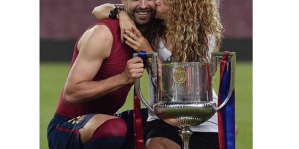 Video: Shakira retó a Piqué con un divertivo juego