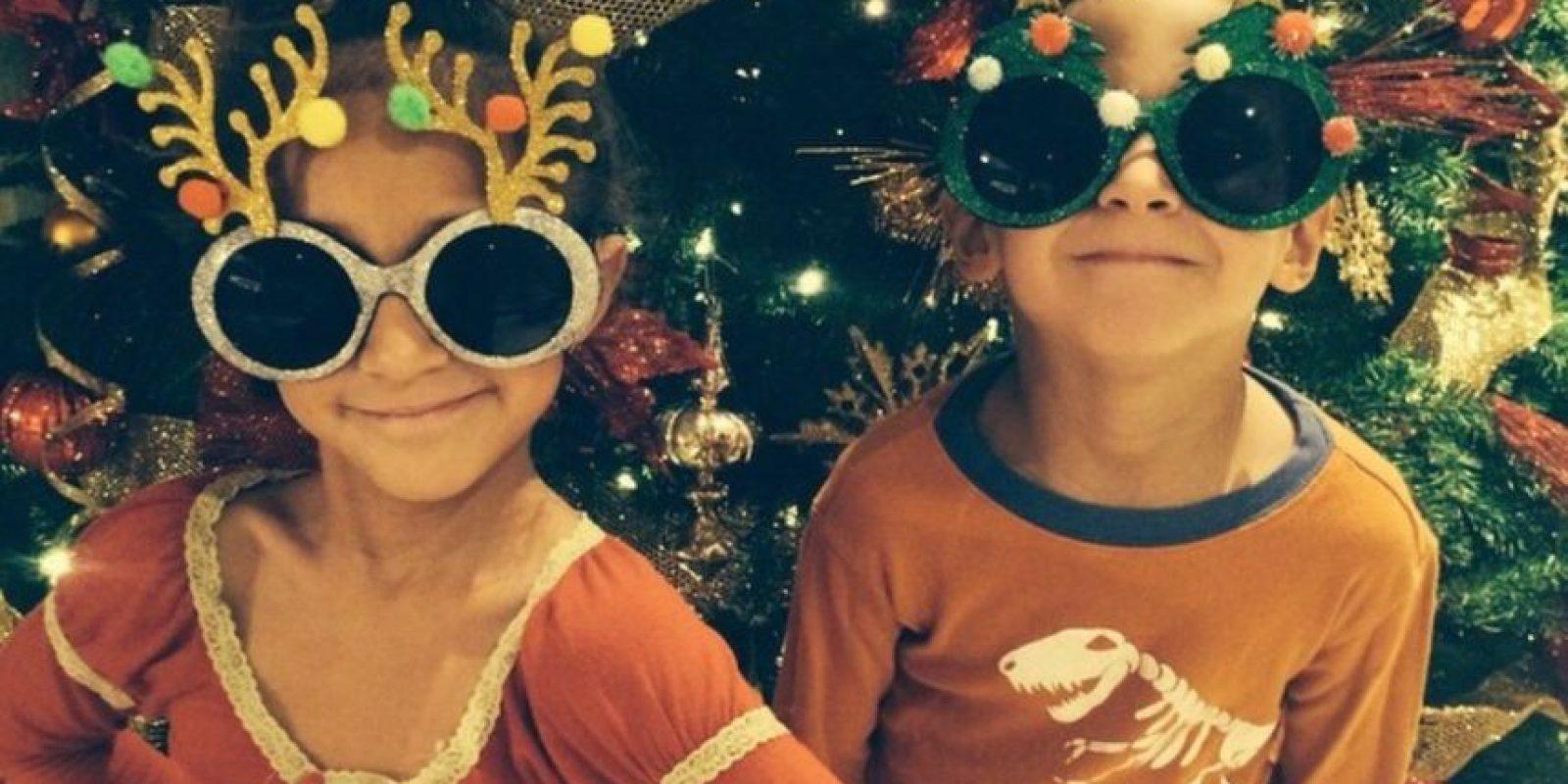 Ahora los pequeños tienen 7 años y ya son unas estrellas de las redes sociales. Foto:vía instagram.com/jlo
