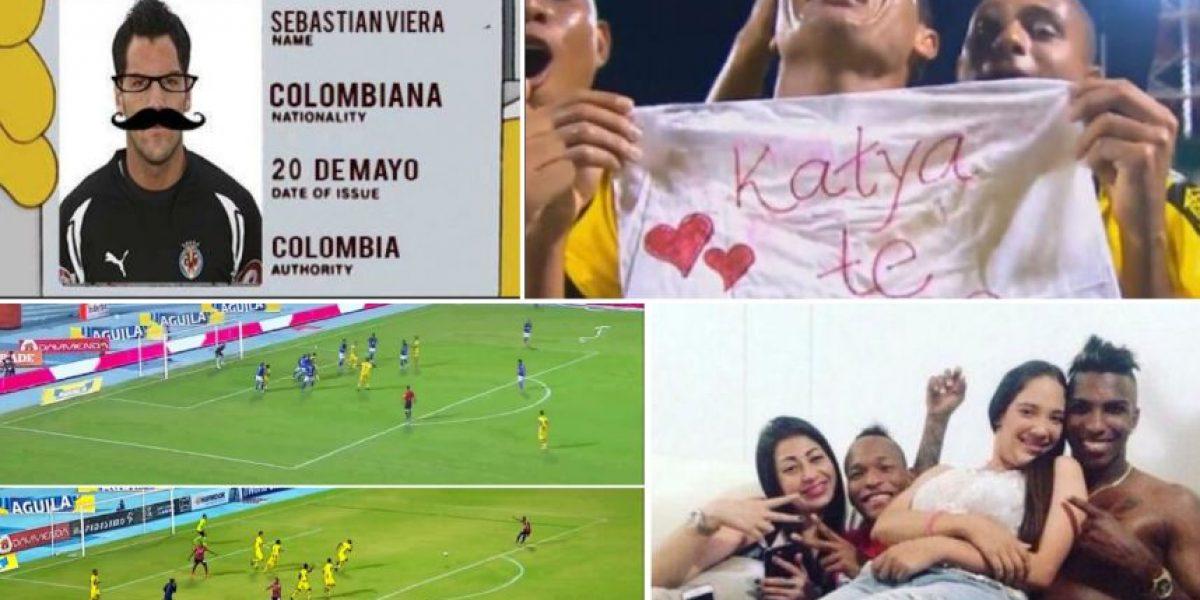 Recuerde las colombianadas futboleras del 2015
