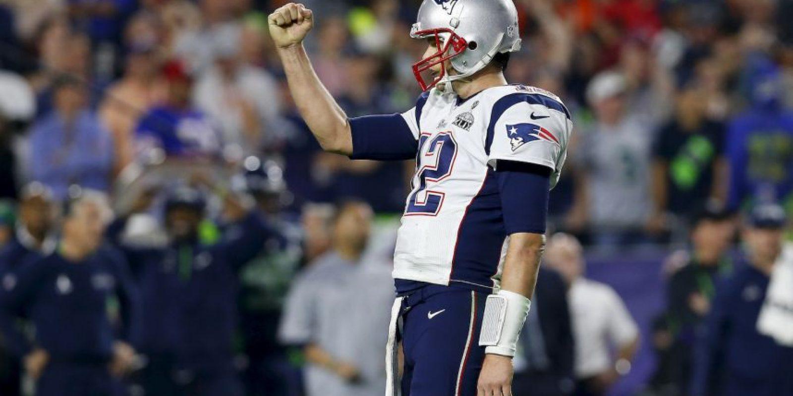 """En el último segundo, los """"Pats"""" superaron 28-24 a los Seattle Seahawks Foto:Getty Images"""