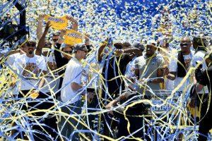 """7. Stephen Curry y sus """"Guerreros"""" se coronan en la NBA Foto:Getty Images"""