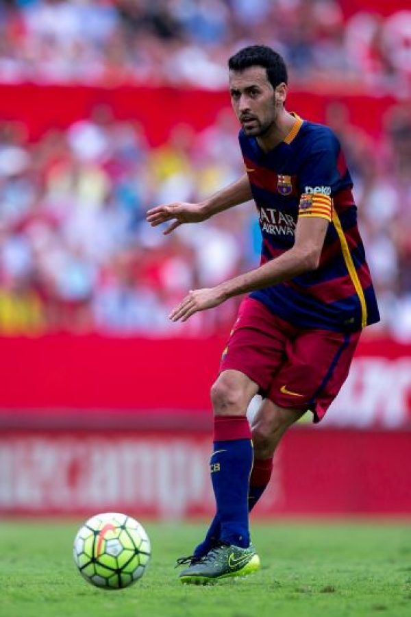 Entre los tramposos y exagerados se encuentra Sergio Busquets, del Barcelona Foto:Getty Images