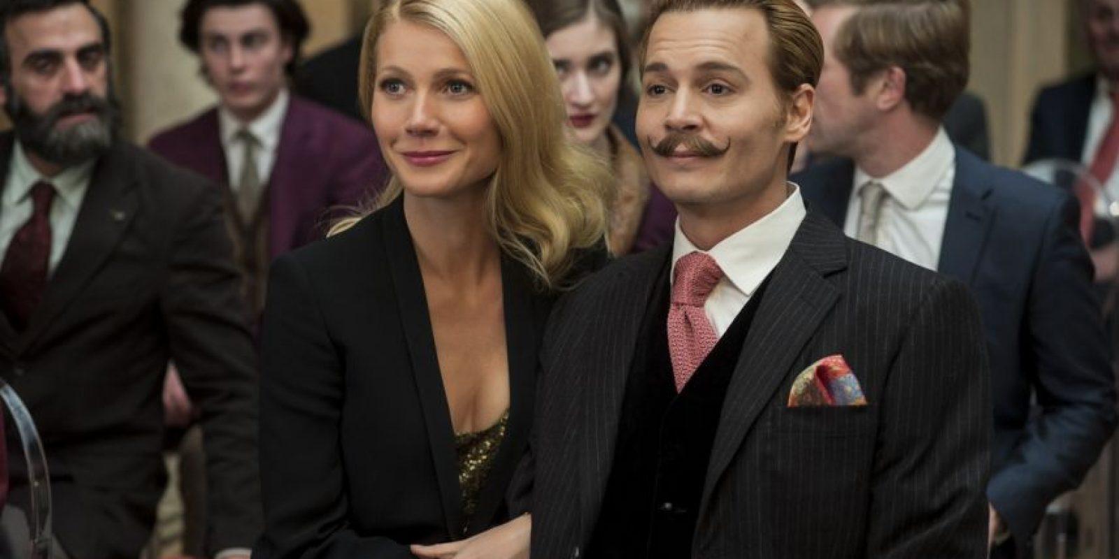 Protagonizada por Johnny Depp, recaudó globalmente 47.27 millones de dólares, que no bastaron para cubrir los 60 millones de producción. Foto:Lionsgate