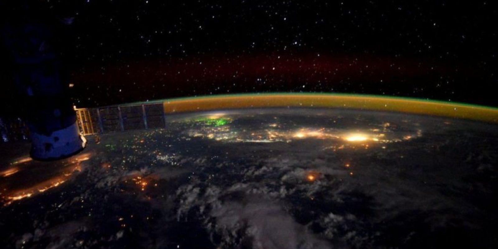 El imponente sureste de Asia. Foto:Vía Twitter @StationCDRKelly