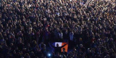 Todas en nombre de la libertad de expresión. Foto:AFP