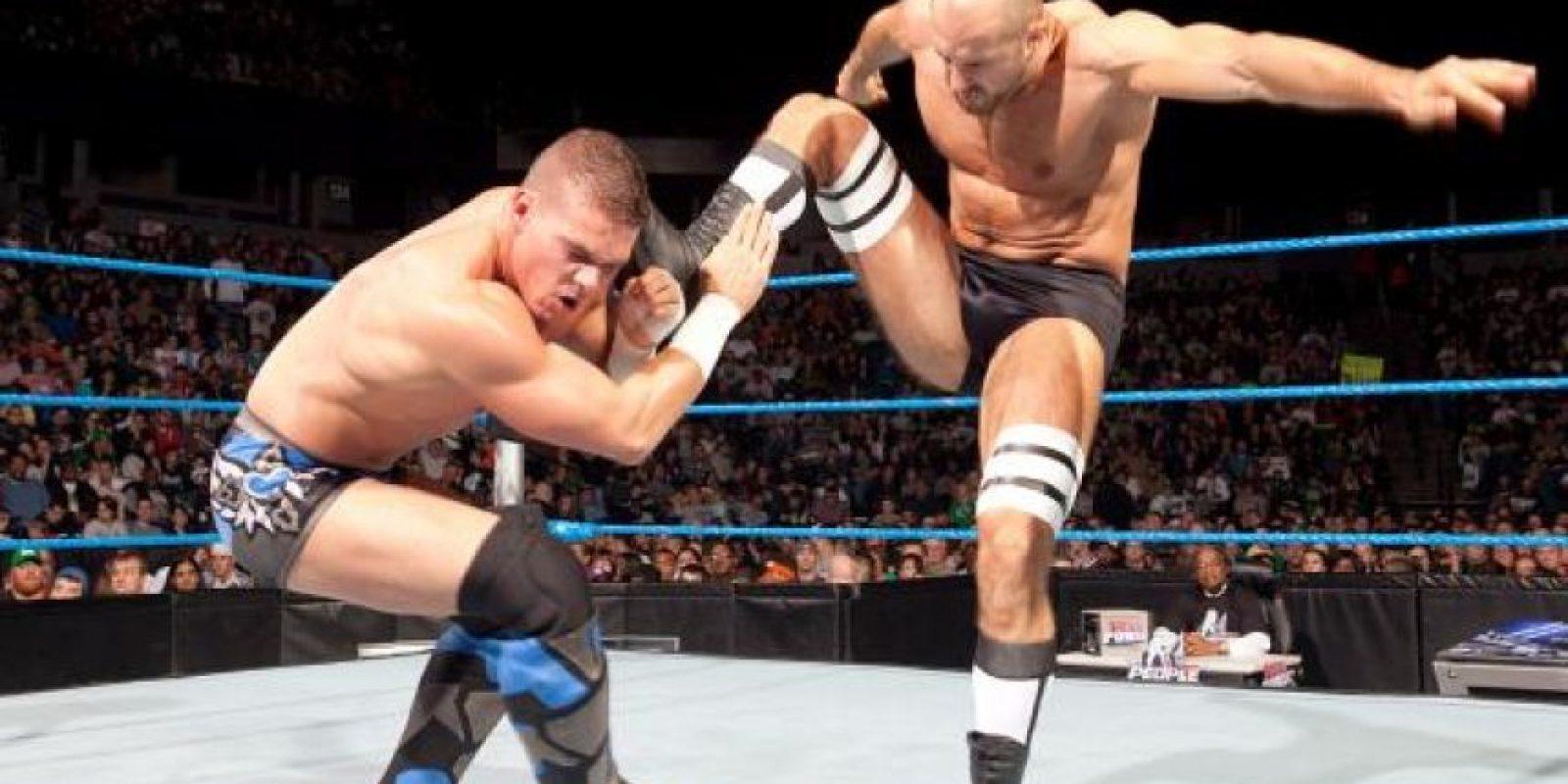 Llegó a WWE en abril de 2007 Foto:WWE