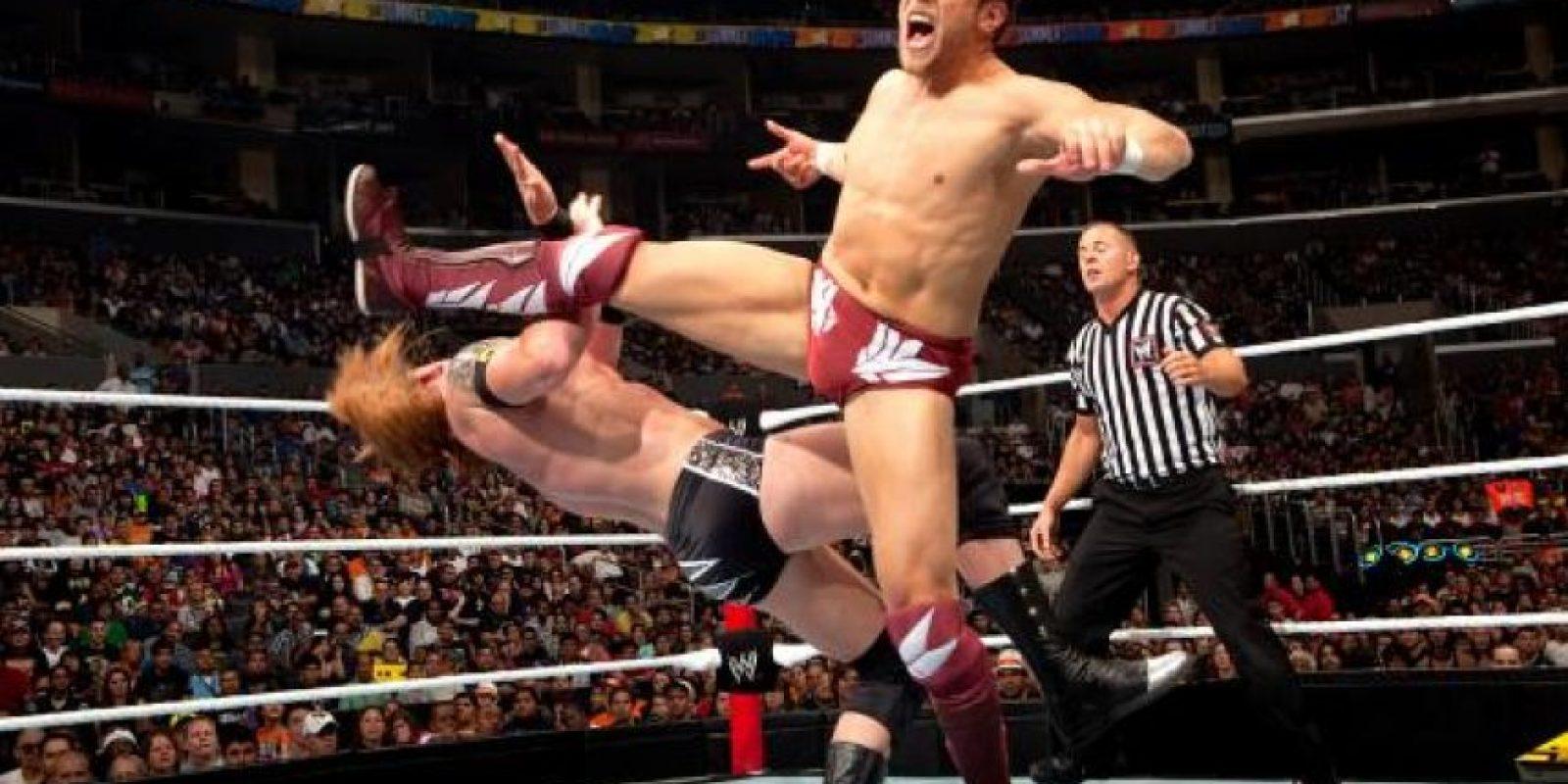 En el SummerSlam de 2010 Foto:WWE