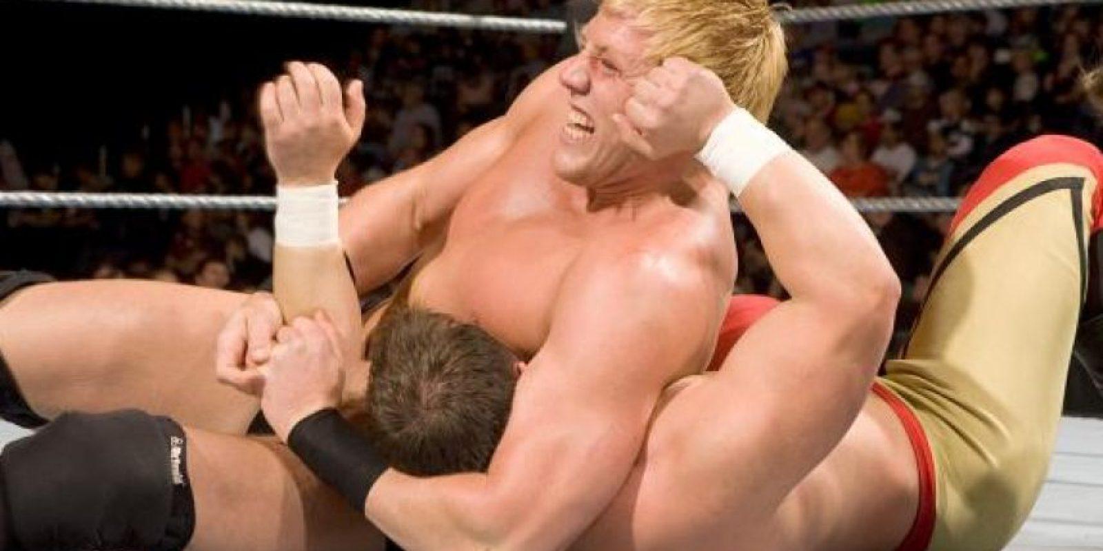 Así se veía Swagger el 9 de septiembre de 2008, en ECW Foto:WWE