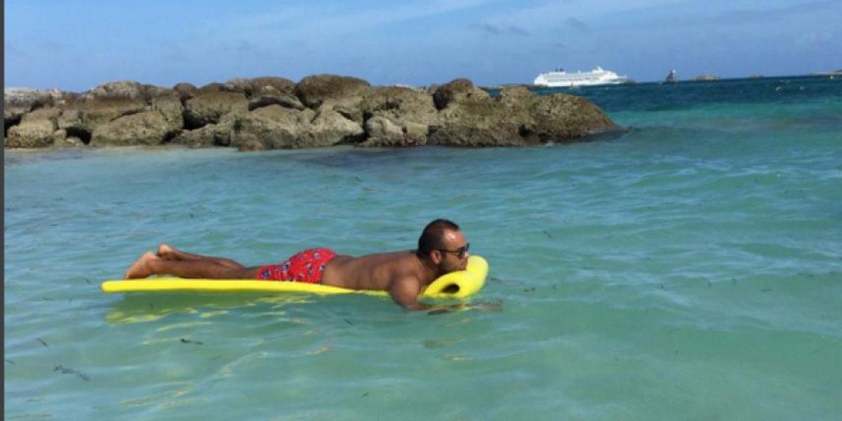 Las placenteras vacaciones de Carlos Vargas