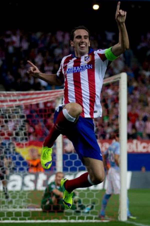 Diego Godín (Uruguay, Atlético de Madrid) Foto:Getty Images