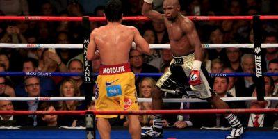 """El fiipino decepcionó en la """"Pelea del Siglo"""" que protagonizó y perdió ante Floyd Mayweather Foto:Getty Images"""