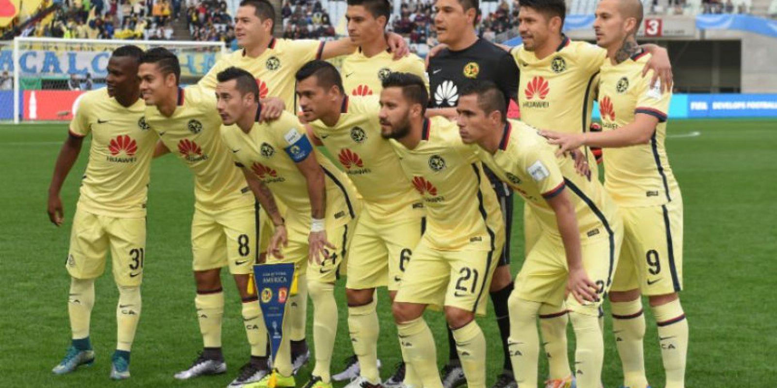 """Las """"Águilas"""" pensaban enfrentar al Barcelona en las semifinales del Mundial de Clubes, pero cayeron en cuartos con el Guangzhou Evergrande, de China Foto:Getty Images"""