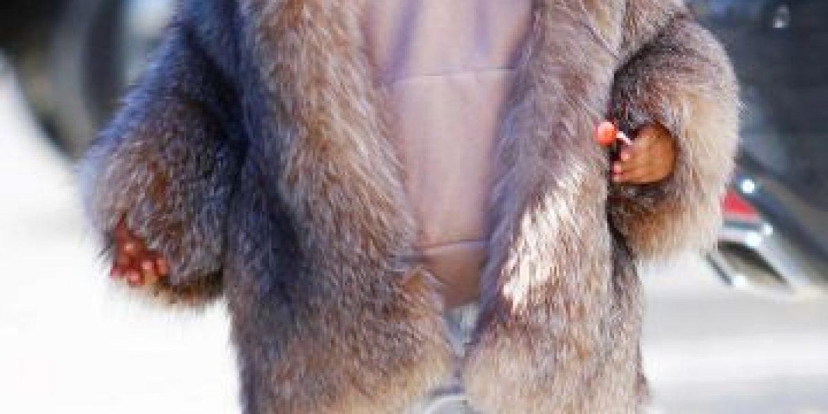 ¿Cuánto cuesta el lujoso abrigo de la hija de Kim Kardashian?