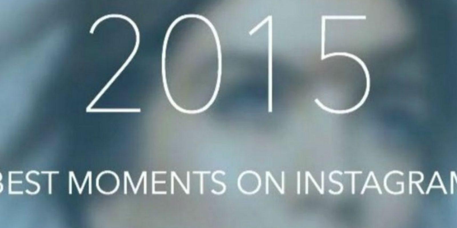 Ya pueden crear su video con sus fotos más populares del 2015. Foto:IntaTrack App