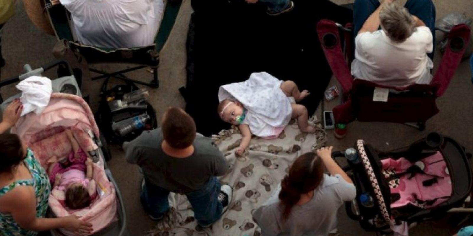 Brittany Pilkington asfixió a sus tres hijos porque su marido no le prestaba atención a su hija. Foto:Getty Images