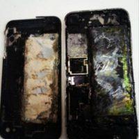 5) iPhones incendiados. Foto:vía Tumblr.com