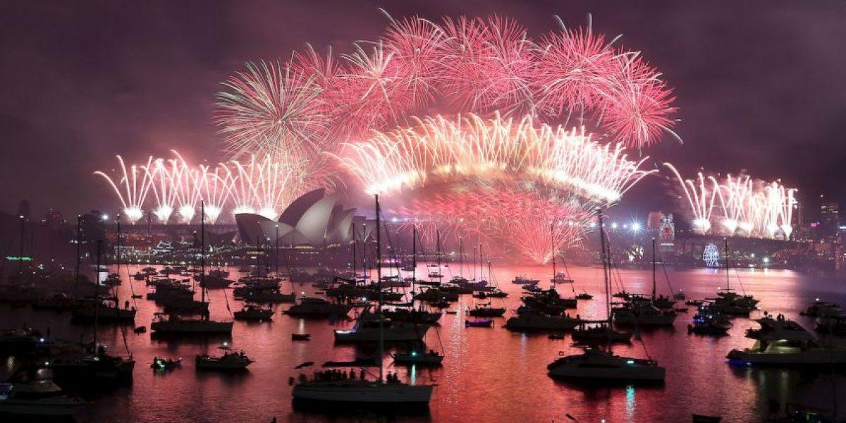 Año Nuevo: Así recibió el mundo el 2016