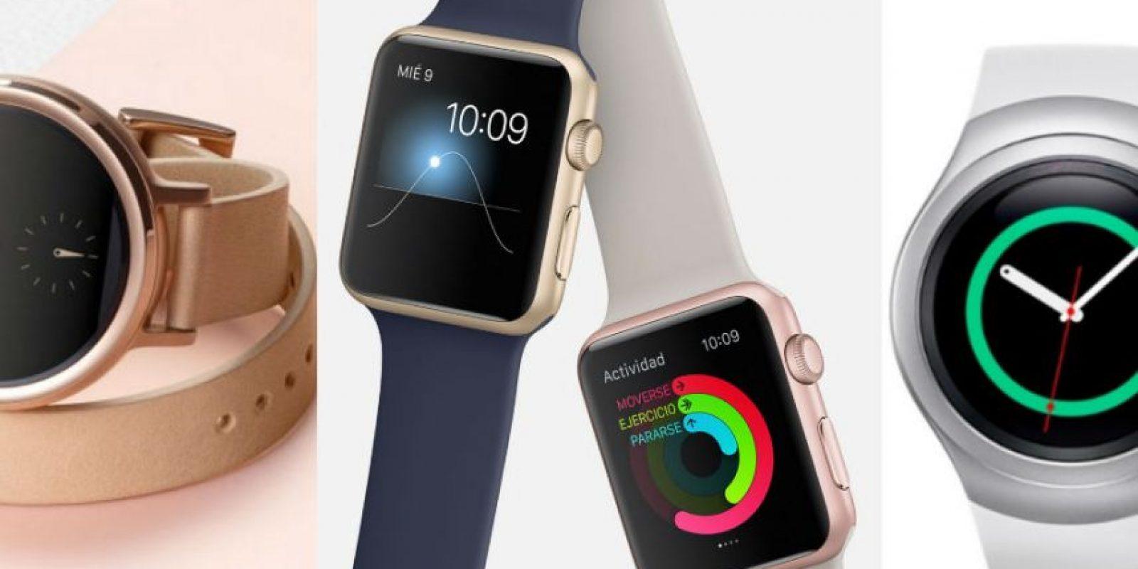 Estos son los relojes que todos quieren. Foto:Motorola / Apple / Samsung