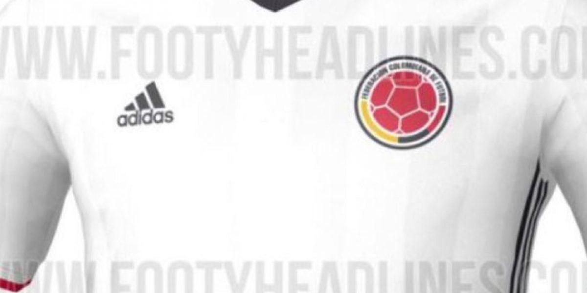 Así sería la camiseta blanca de Colombia para la Copa América Centenario