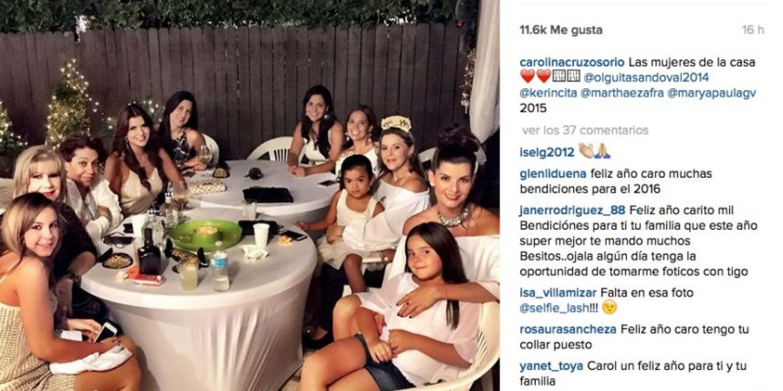 Foto:Instagram @Carolinacruzosorio