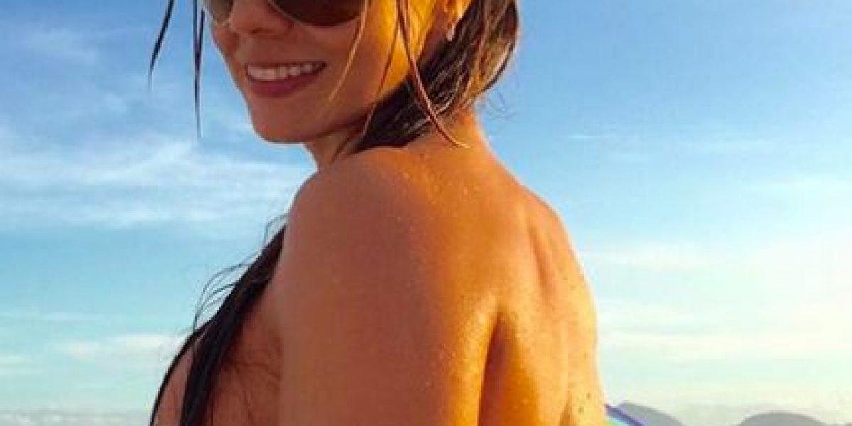 Emisora se mete en problemas por imágenes de Esperanza Gómez desnuda