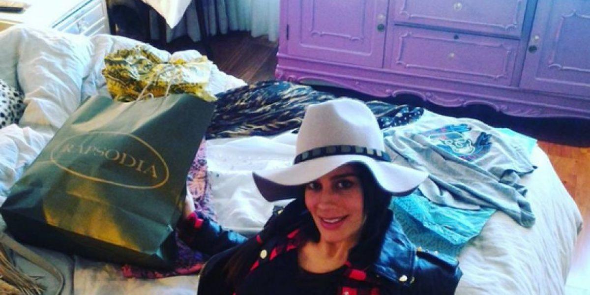 Manuela González está embarazada