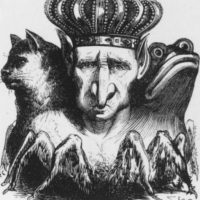 """El """"Diccionario Infernal"""" de 1811 ilustró a 69 demonios. Destacan criaturas como Astaroth (primer Duque del Infierno) o Moloch. Foto:Tumblr"""