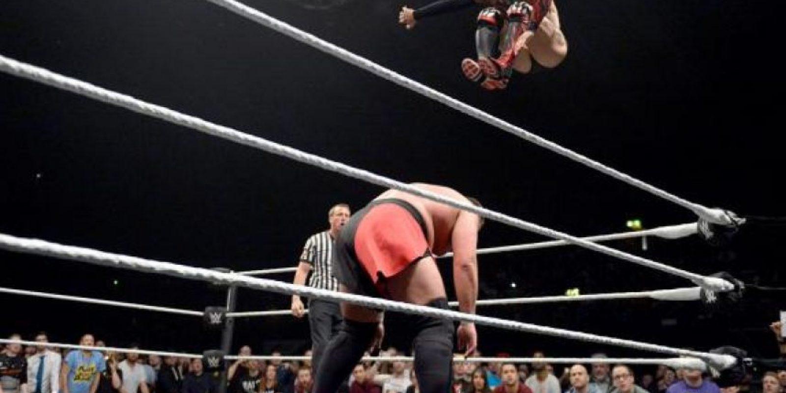 Logró 17 victorias y solo tres derrotas Foto:WWE