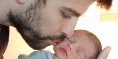 Milan, el primer hijo de Shakira y Gerard Piqué Foto:Getty Images