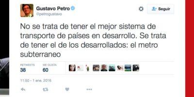 Foto:Captura de pantalla Twitter @petrogustavo