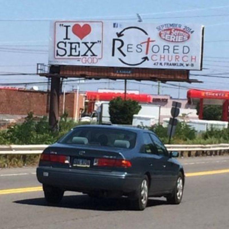 Esta iglesia está de acuerdo en promover la sexualidad Foto:Facebook/RestoredChurch