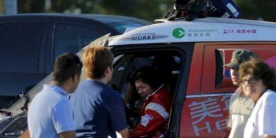 La conductora responsable. Foto:AP