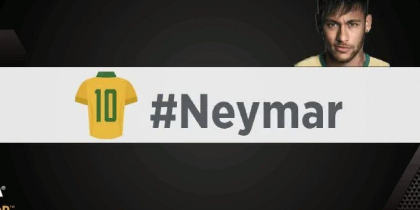 Neymar. Foto:vía twitter.com/fifacom_es