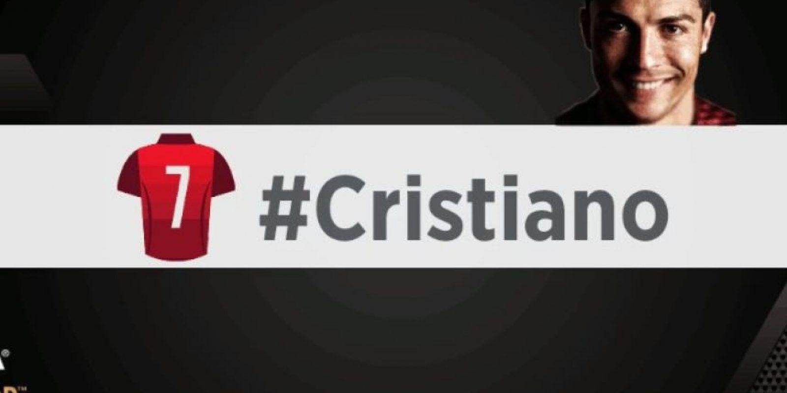 Cristiano Ronaldo. Foto:vía twitter.com/fifacom_es