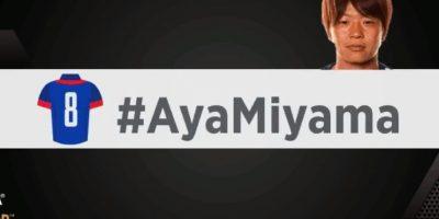 Aya Miyama. Foto:vía twitter.com/fifacom_es