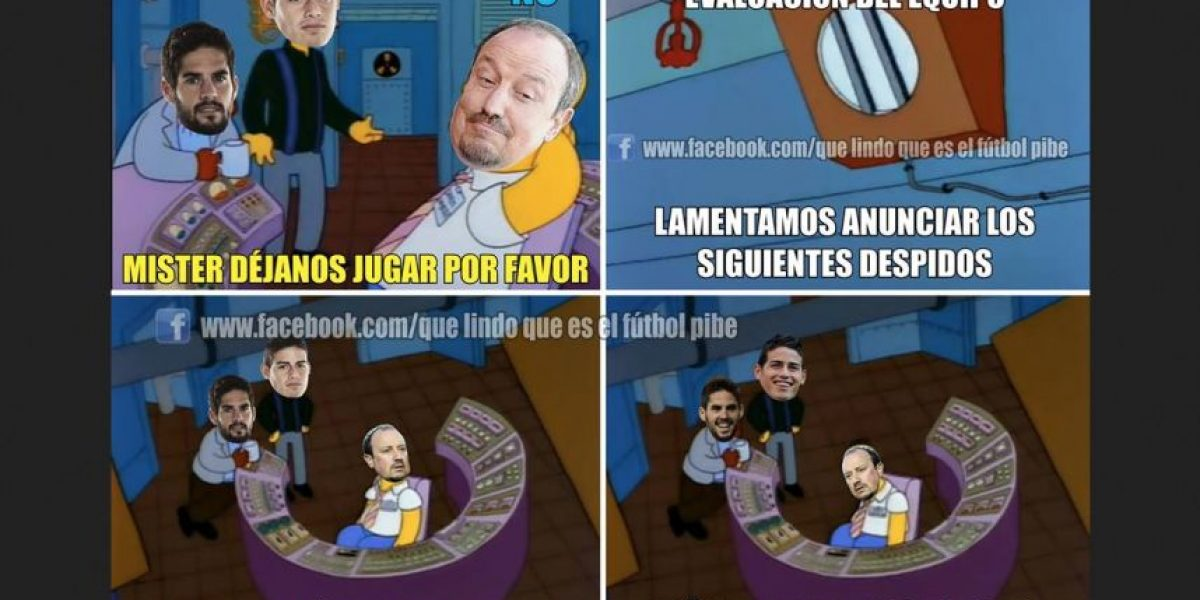 Memes por la despedida de Benítez y llegada de Zidane